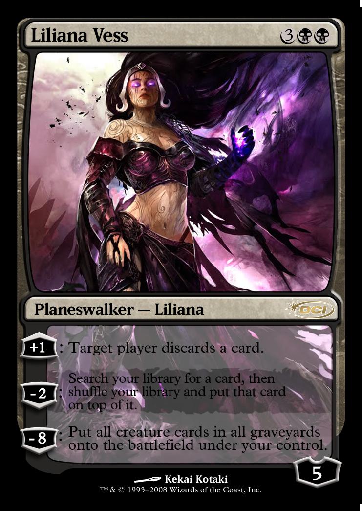 Liliana Vess Planeswalker Magic The Gathering Planeswalker Magic The Gathering Cards Magic The Gathering