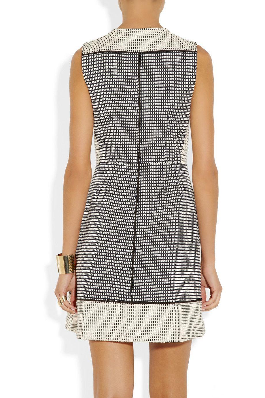 Proenza Schouler|Basketweave tweed dress|NET-A-PORTER.COM