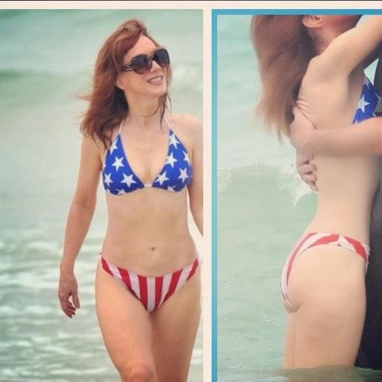 Opinion you Kim cattrall bikini remarkable, very