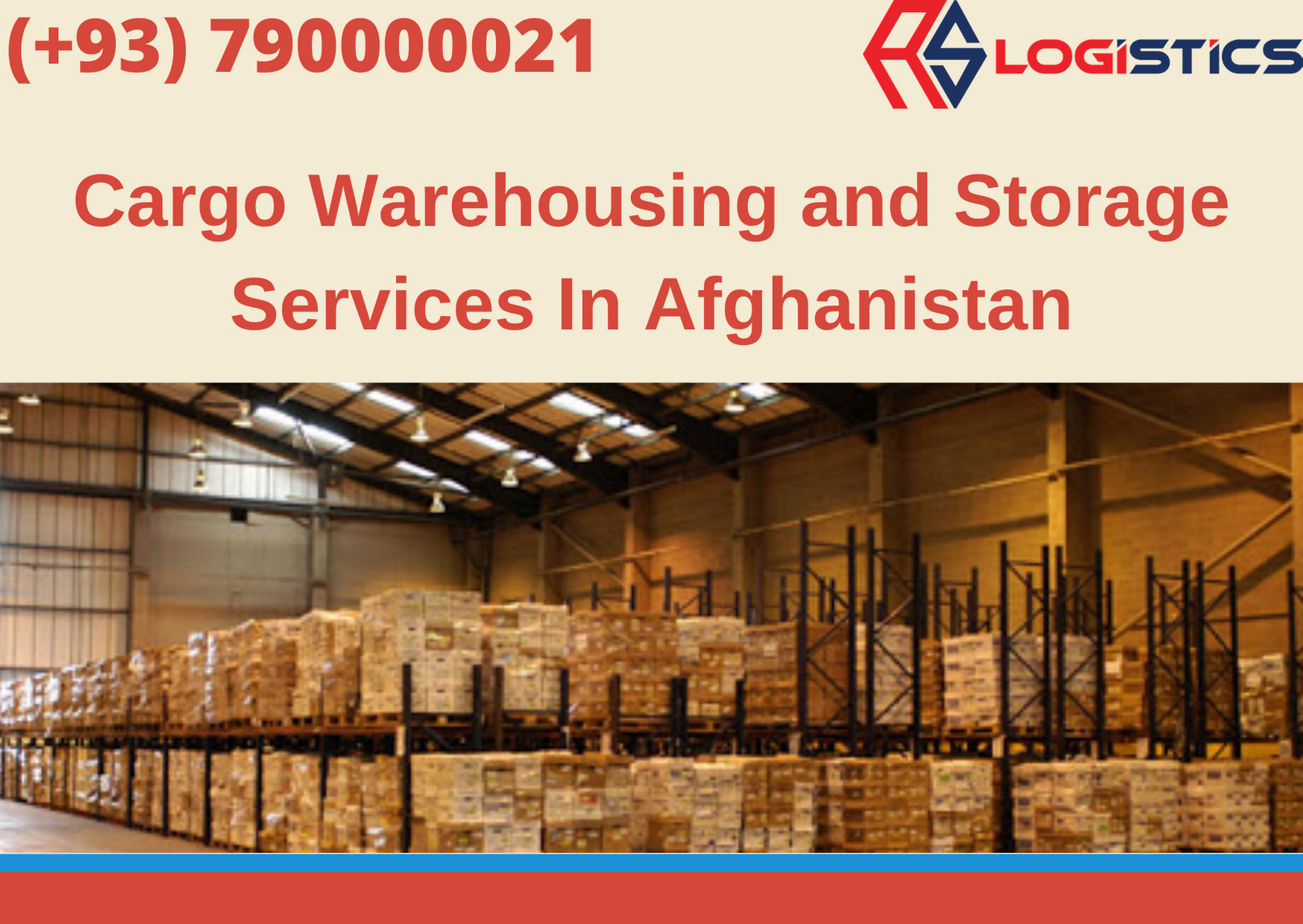 Cargo Warehousing and Storage Services In Afghanistan in