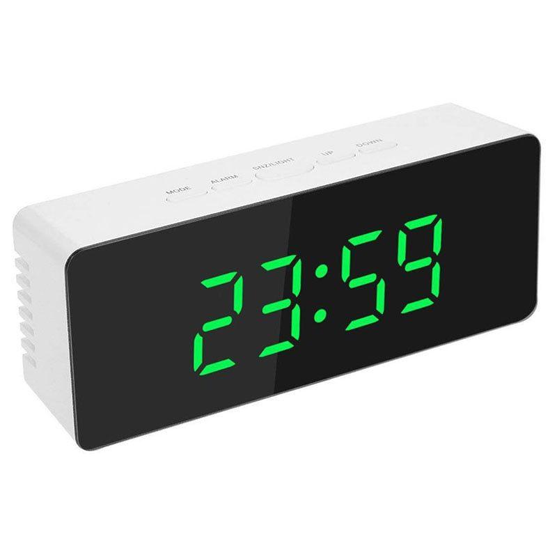 Led Alarm Table Clock Luminous Digital Clock In 2020 Table Clock Led Clock Clock