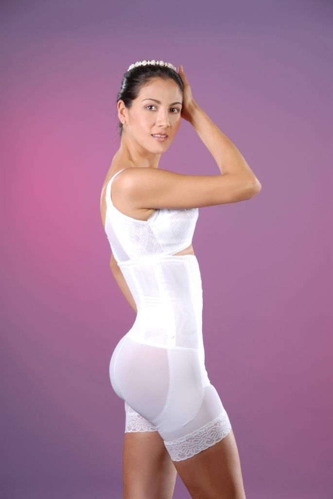 8110d9d50c Fajas Powernet Post-Surgery Post-Partum Strapless long leg Integral  Reshapers  640 available in www.1girdle.com