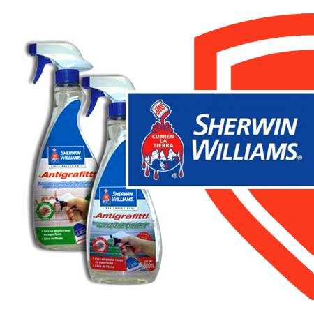 ¿Sabías qué?...  Grandes marcas como Sherwin Williams utilizan nuestra fórmula #Antigrafitti en algunos de sus productos.