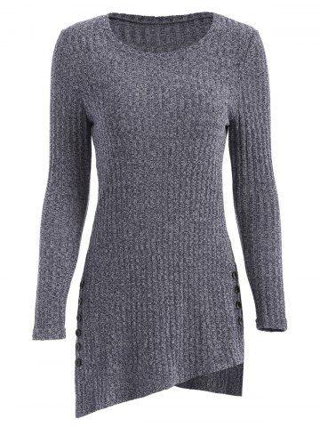 70a2b0b918b Side Slit Longline Knitwear