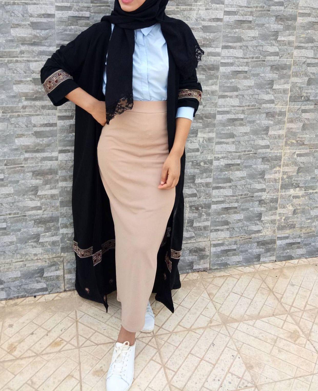 Pinterest @adarkurdish  Hijab fashion, Muslim fashion outfits