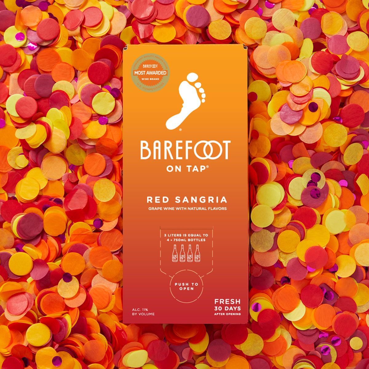 Barefoot On Tap Red Sangria In 2020 Red Sangria Sangria Natural Flavors