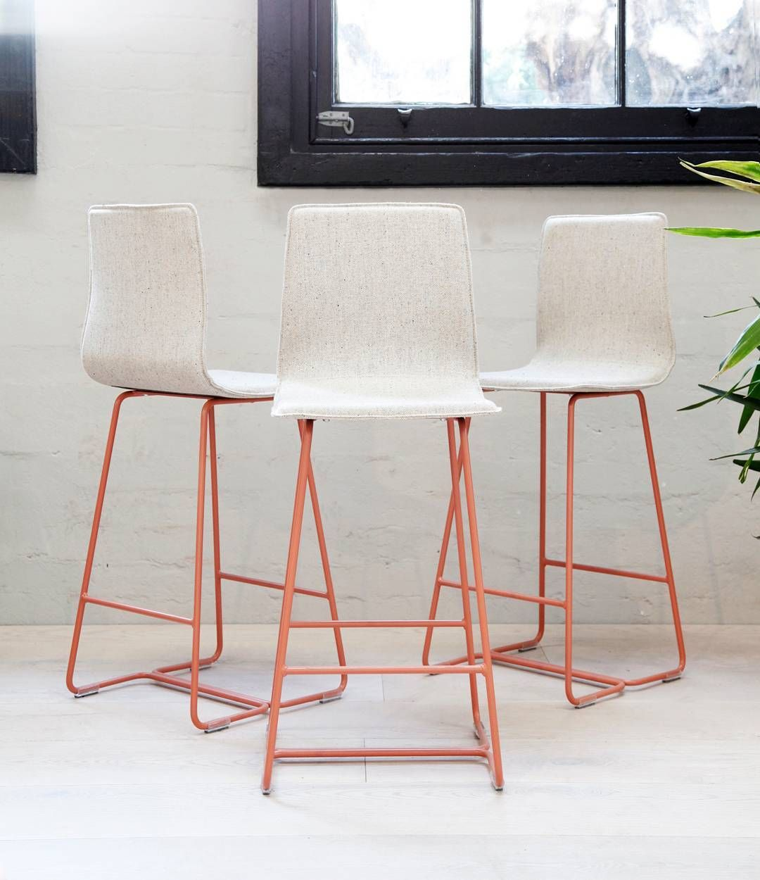 Pleasing Our Sled Base Barstool Is Looking Rather Lovely In Our New Gmtry Best Dining Table And Chair Ideas Images Gmtryco