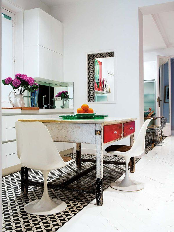 Arquitectura se orial y mucha vida ideas para tu comedor - Mesas de arquitectura ...