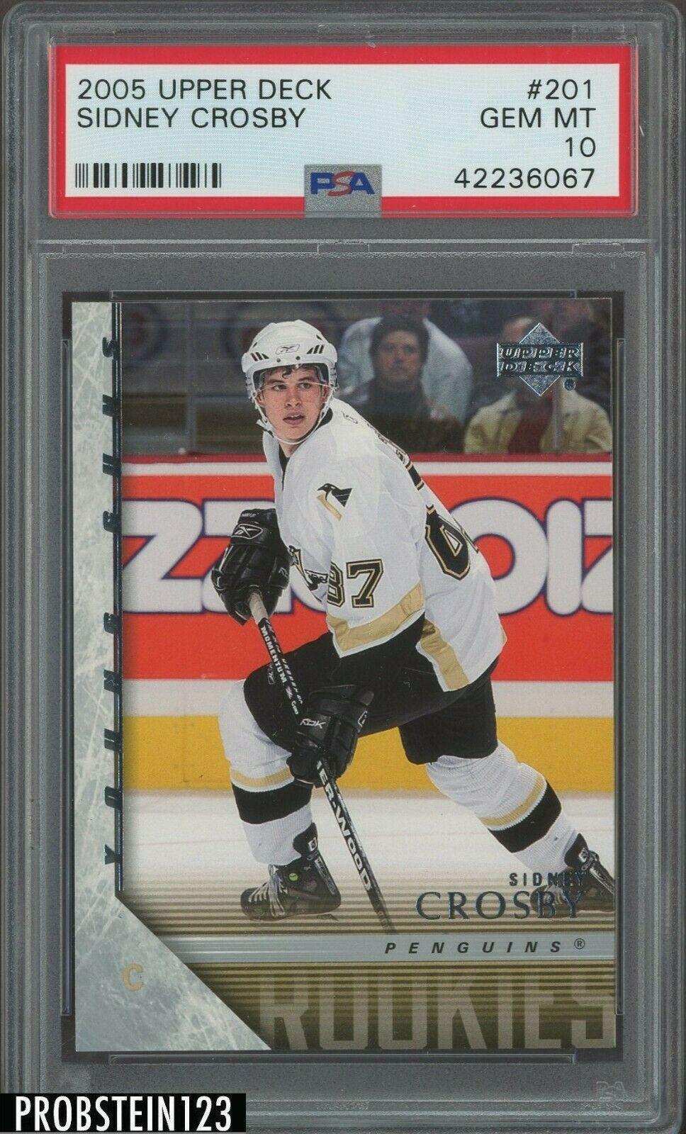 200506 Upper Deck Young Guns 201 Sidney Crosby Penguins