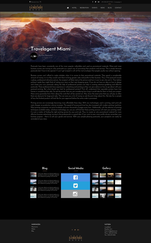 Black Gold Hotel Website Template Sketch Design Design Hotel
