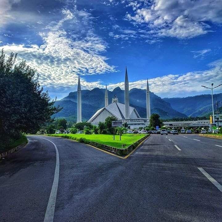 Faisal Mosque, Islamabad Photo By: Hafiz Shahid