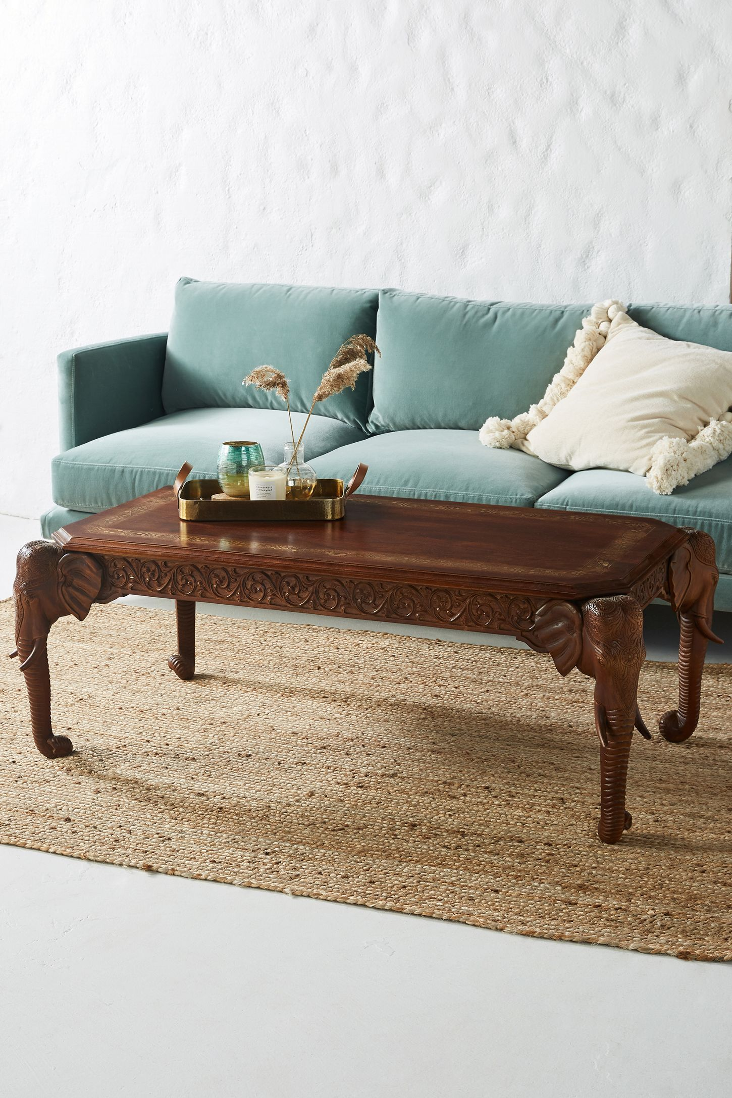 Elephant coffee table in 2020 unique coffee table