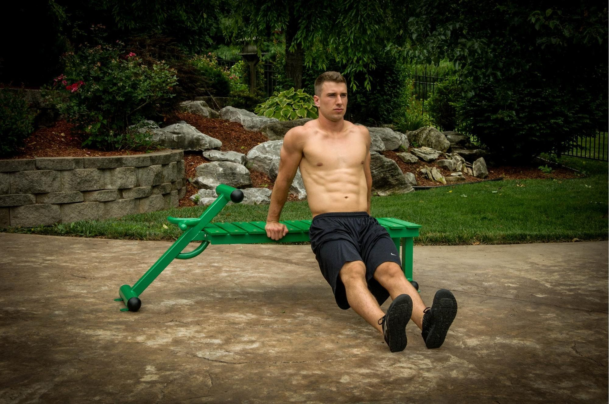 Outdoor Fitness Workout Bench In 2021 Outdoor Workouts Outdoor Fitness Equipment Workouts Outside