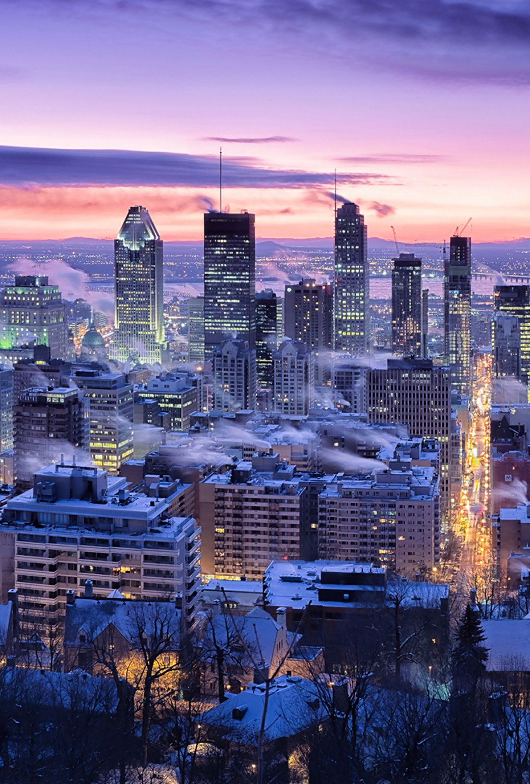 Pin by Agata on Inspiracja Montreal, Canada travel
