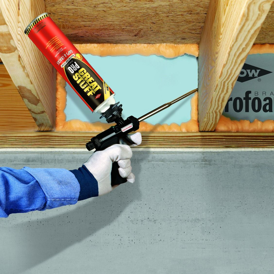 GREAT STUFF™ Big Gap Filler Insulating Foam Sealant offers