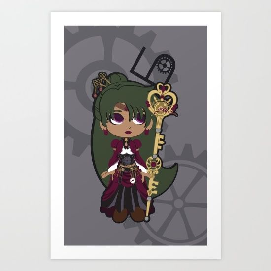 Steampunk Sailor Pluto - Sailor Moon by CaptainLaserBeam