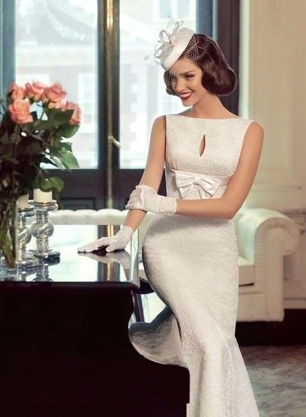 elegante moda de los años 60 | vestidos de novia