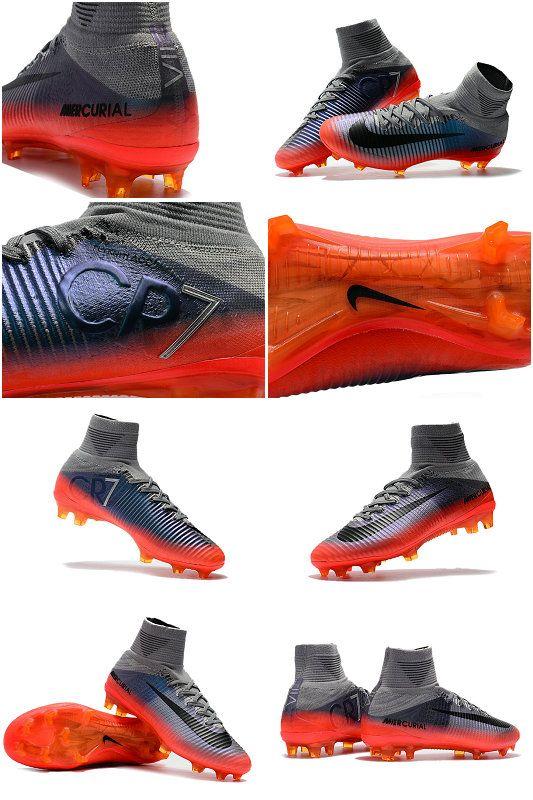 Chaussures Nike mercurial superfly V CR7 Col dynamic Fit qui assure au  maximum le confort en épousant la forme du pied. bac03b7f3d42a