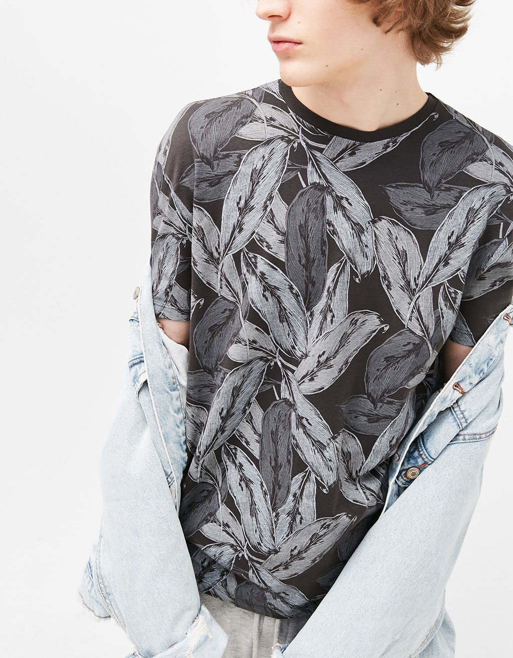 f91ed104 Tigers/leaves/camouflage T-shirt | Florals & Plants | Camouflage t ...