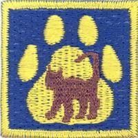 Cub Scouts/Pets & pet caring merit badge; Partiotuote, Lemmikki-jälki , Sudenpentujen Lemmikki-jälki