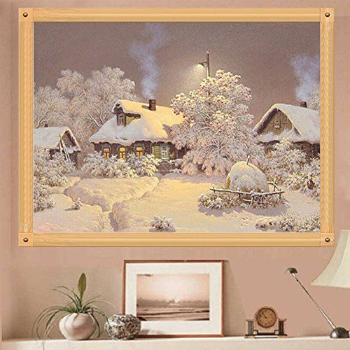 Full 5D Diamond Painting DIY Crystal Embroidery Cross-Stitch Kit for Home Decor