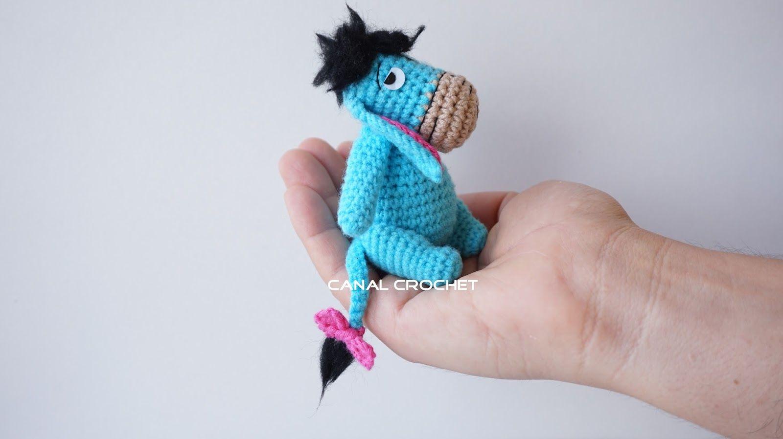 Amigurumi Patrones Gratis De Buho : Canal crochet igor amigurumi tutorial croche