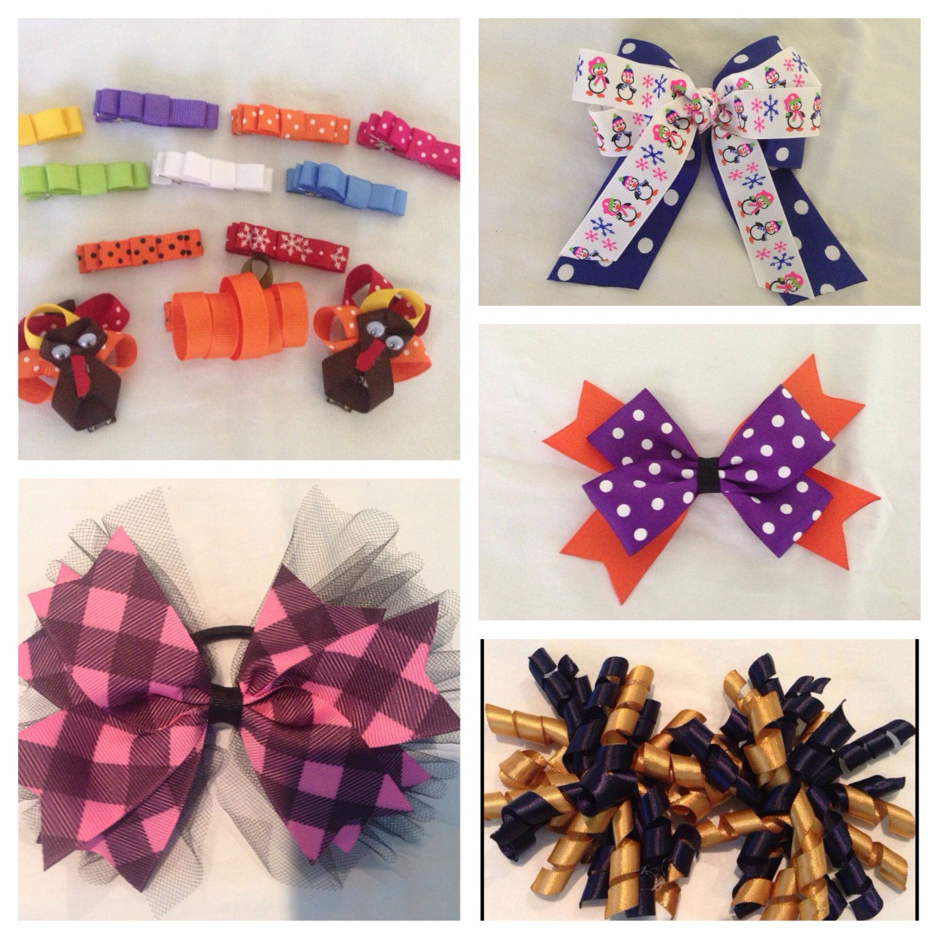 Check Out My Facebook Page Monkee Bowz I Make Custom Hair Bows For Any Occasion Lots Of Different Styles And Ribbon C Custom Hair Bow Bows Hair Bows