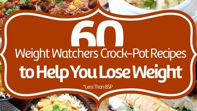 """Image result for 60 Weight Watchers Crock-Pot Recipes to Help You Lose Weight"""""""