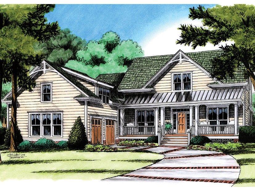 Eplans Farmhouse House Plan Country Farmhouse Plan With