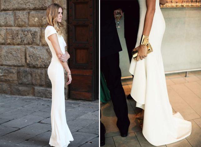 For the chic, minimalist bride.