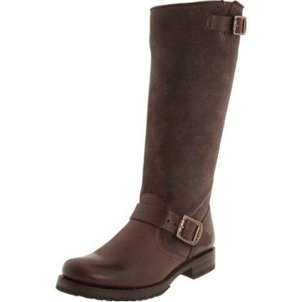 FRYE Women`s Veronica Slouch 76607 Knee-High Boot,Chocolate,10 M US $327.95