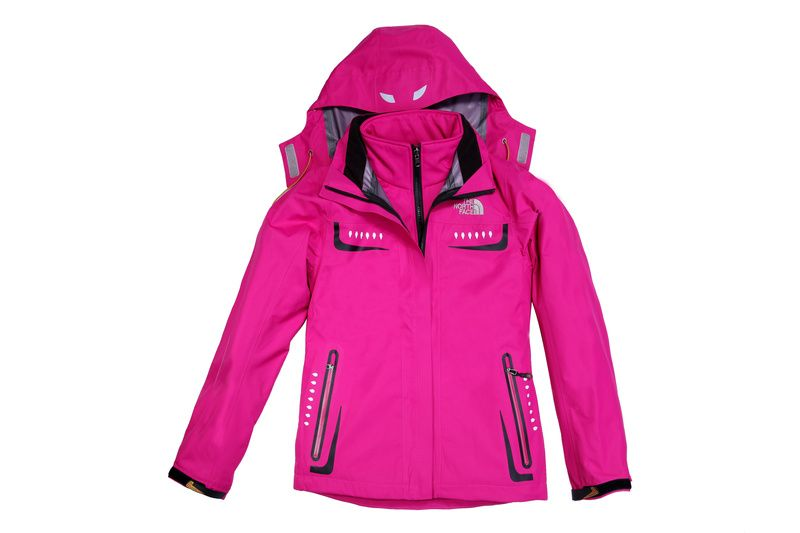 North Face Women Atlas Pink Triclimate Jacket