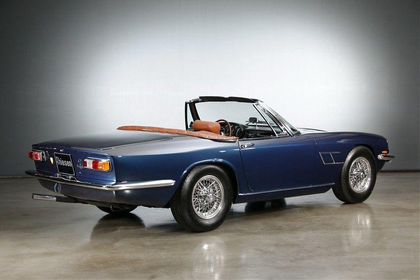 1966 Maserati Mistral Spyder 4.0 | I6, 4,014 cm³ | 255 bhp | Design: Pietro Frua