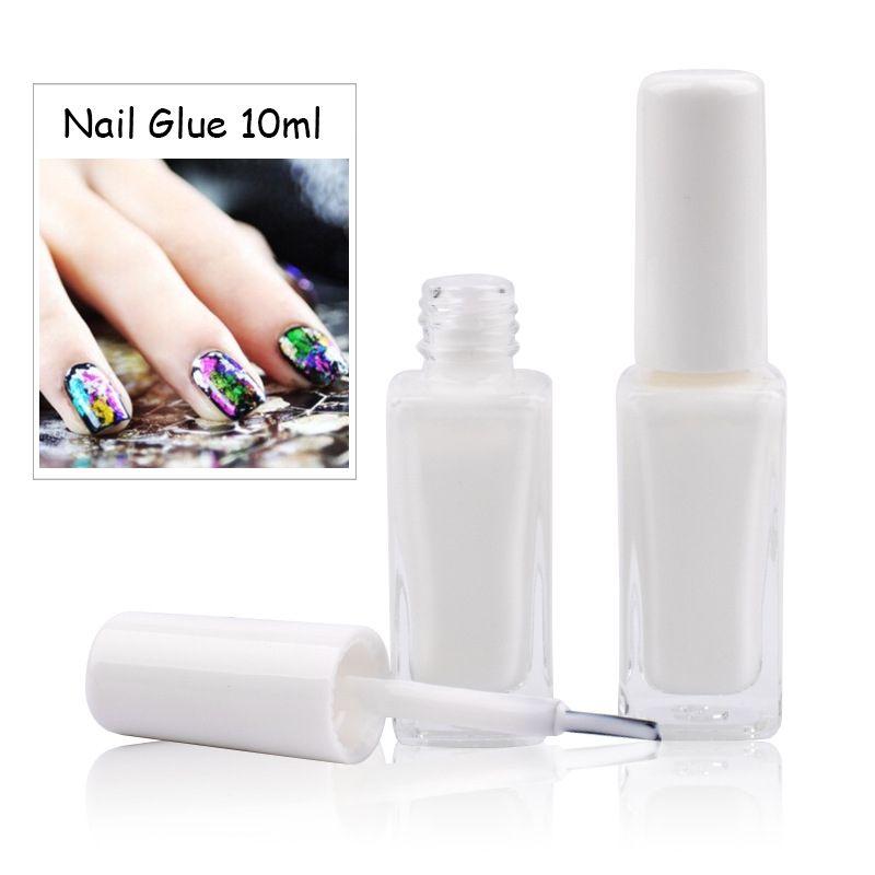 New Arrivals 10ml Clear Nail Foil Adhesive Glue DIY Star Glue For ...