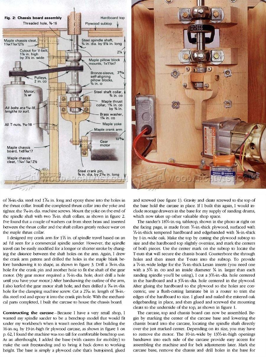 diy drum sander plans. diy oscillating spindle sander - sanding tips, jigs and techniques woodwork, woodworking, woodworking plans, projects diy drum plans
