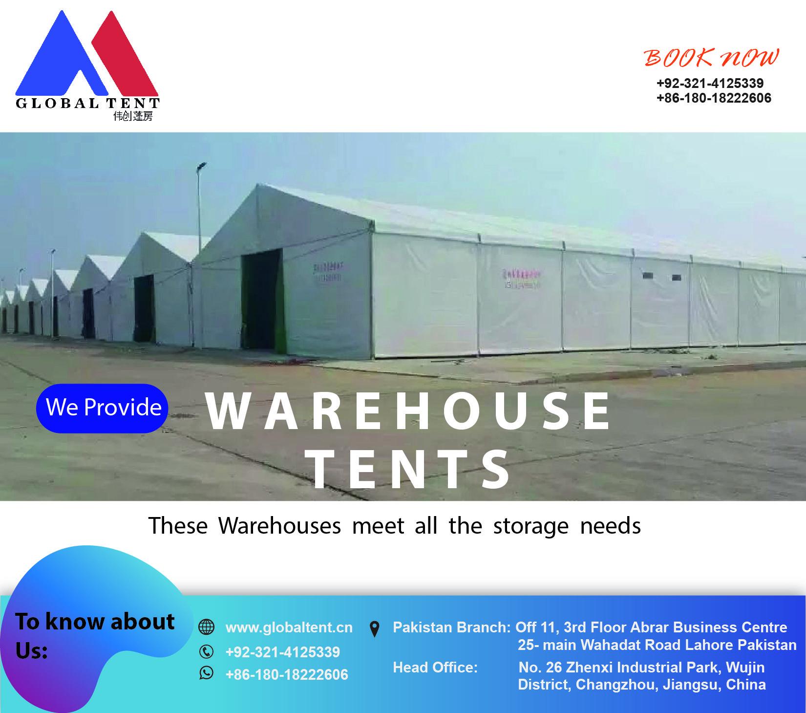 globaltent warehousetent aluminum marquee Tent