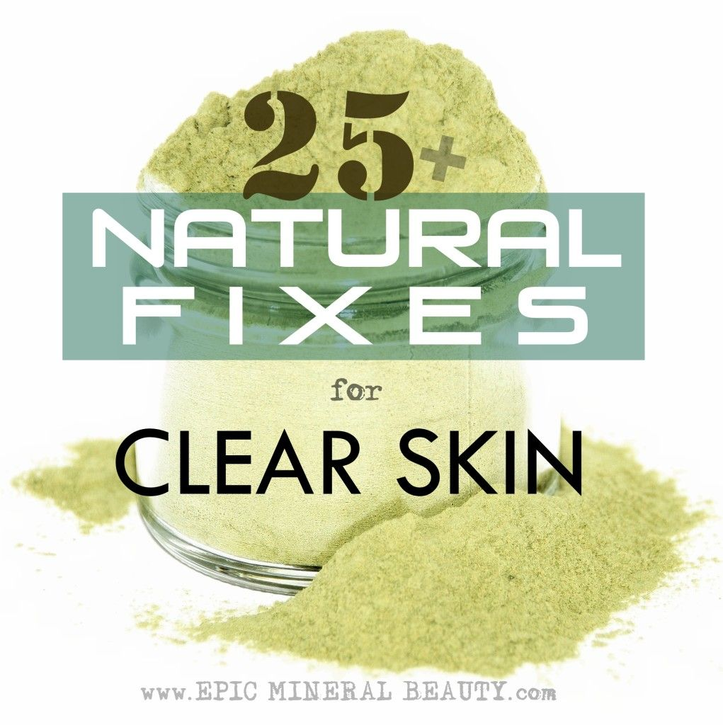 Natural fixes for clear skin, from Epic Mineral Beauty