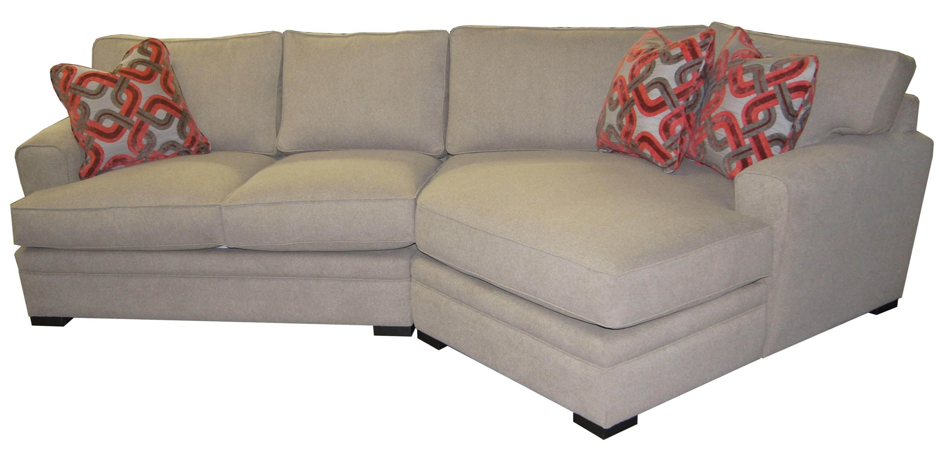 Jonathan Louis Aries Casual Sectional Sofa with Rolled Arms John