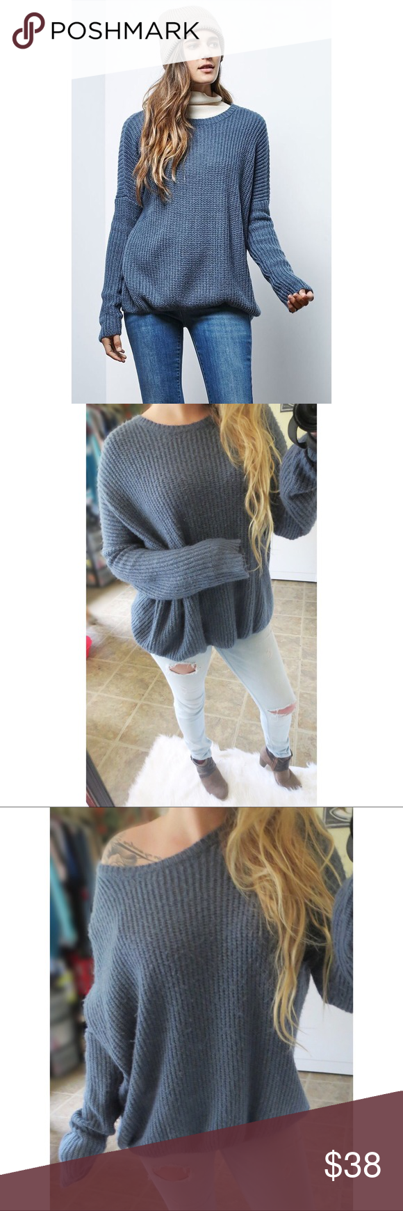 Ultra soft Swingtown knitted sweater ☕ | Baggy sweaters ...