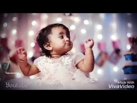 Kannathil Muthamittal Violin Cover Cute Babies Whatsapp Status