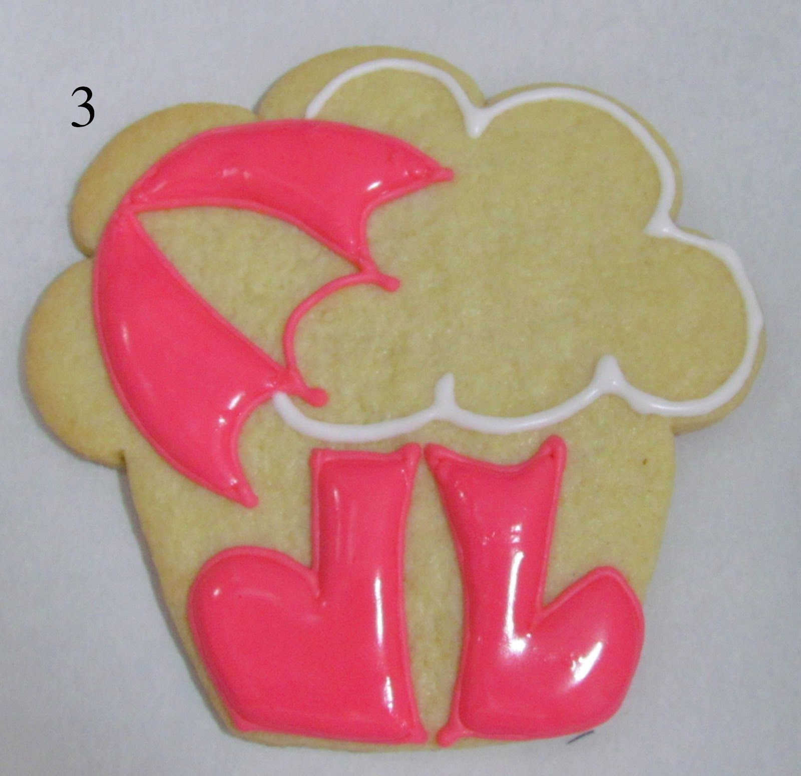 CancunCOOKIES: wellies and umbrellas for a cloudy day...with a cupcake cutter!