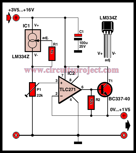 simple low voltage power supply | Circuits Project | Pinterest ...