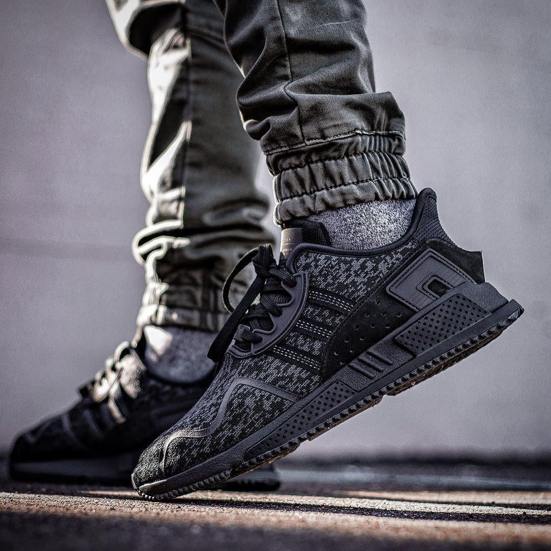 sneakers for cheap 5f67d e7d63 ADIDAS EQT CUSHION ADV TRIPLE BLACK