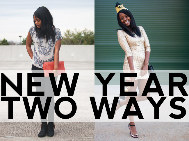 New Year, Two Looks