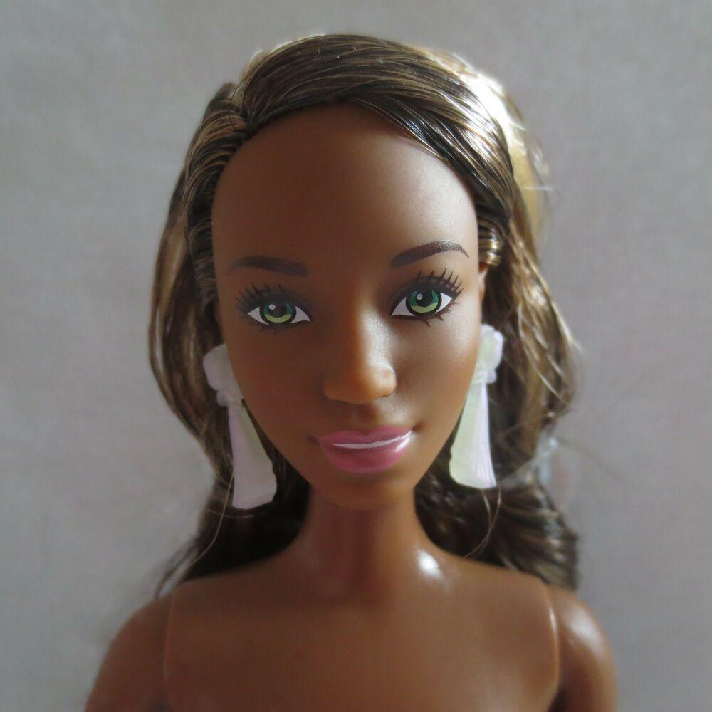 NEW 2017 Barbie Evolution Fashionista Ken Doll  ~ Blonde Molded Hair NUDE
