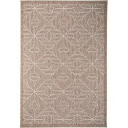 benuta In- & Outdoor-Teppich Canvas Beige 160×230 cm – für Balkon, Terrasse & Garten benuta