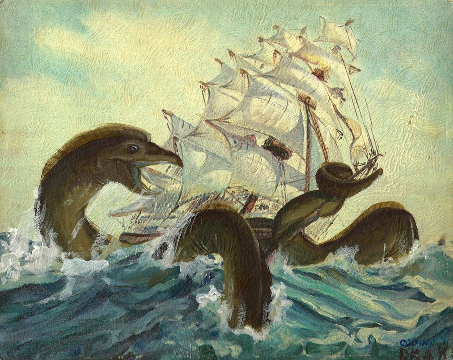 thrift store painting monsters - Yahoo! Search Results ...