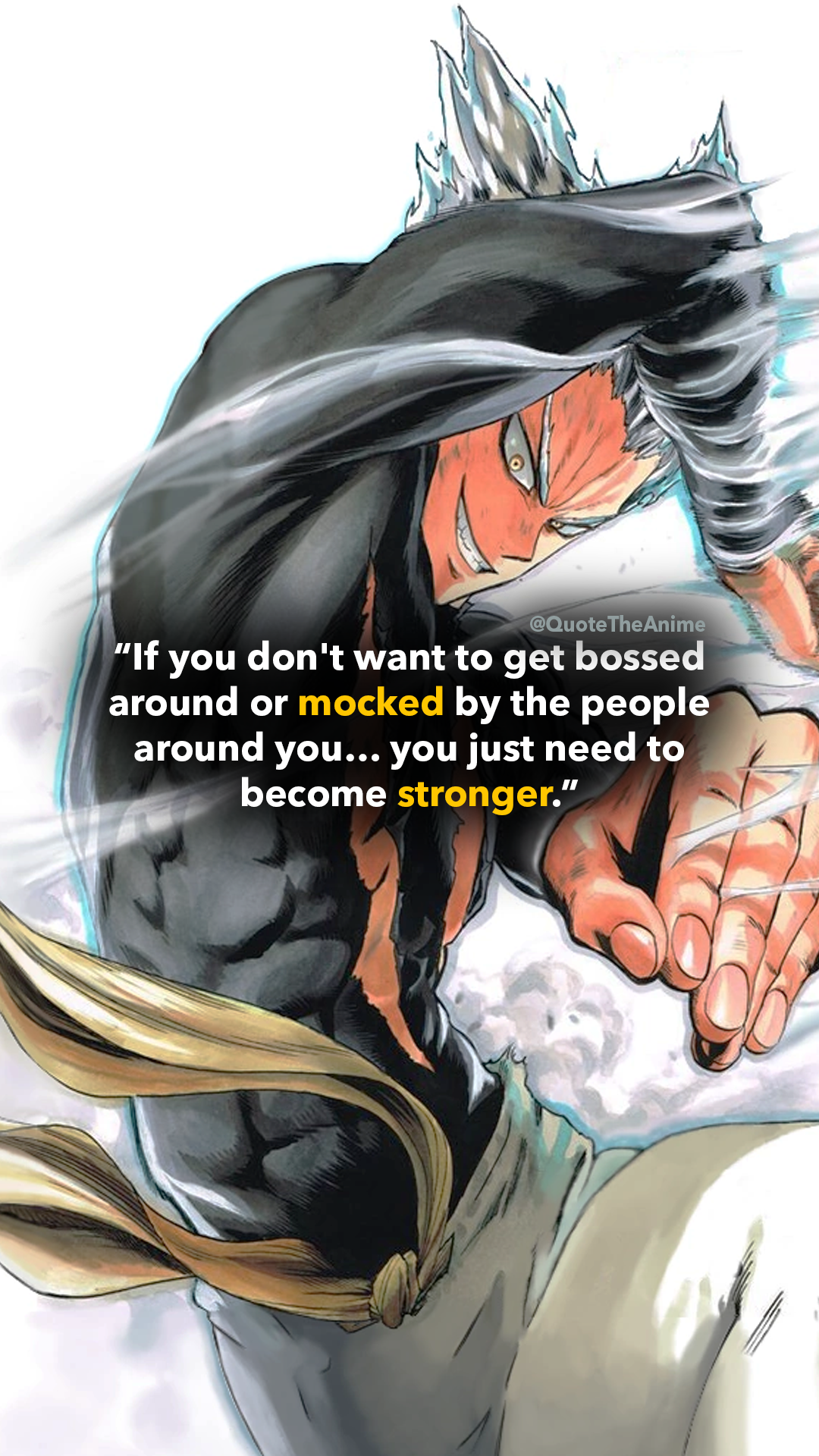 7 Powerful Garou Quotes One Punch Man Hq Images Qta One Punch Man One Punch Man Manga One Punch Man Anime