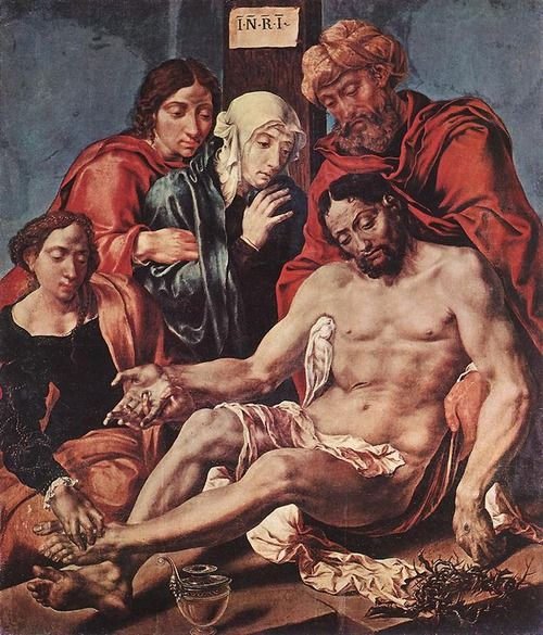 Maerten van Heemskerck, Lamentation of Christ, 1540-43