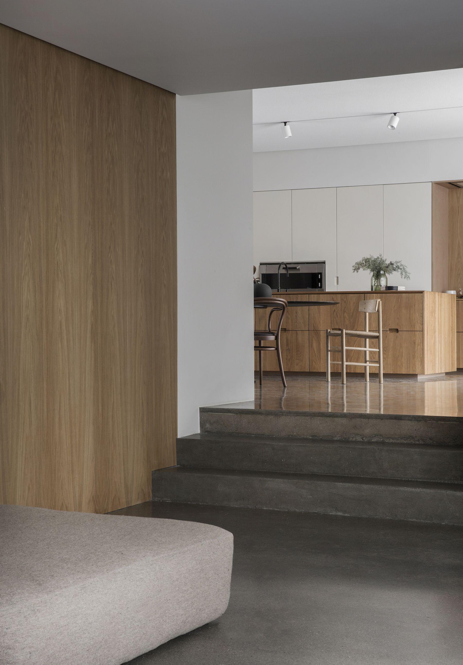 The gj vik house decoraci n muebles dise o interiores for Casa minimalista interior cocina